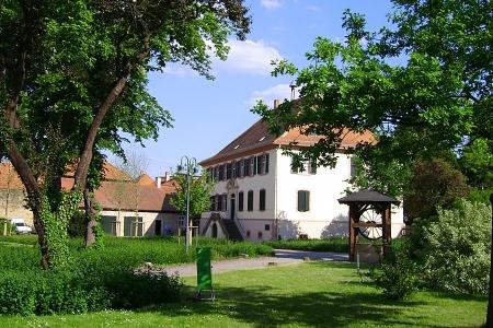 Herrenhof mit Park und Herrschaftshaus, Mußbach, Neustadt / Weinstr.